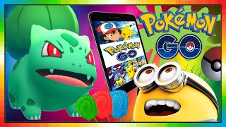 Pokemon go play - Bisasam - Bulbasaur - Bulbizarre