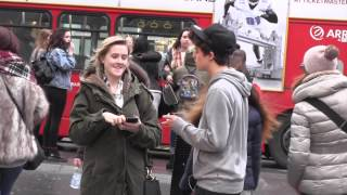 Picking Up Girls in London! | HalfDecentTV