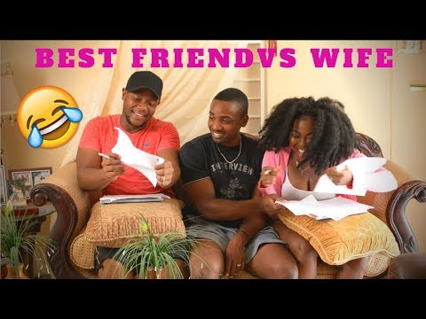 Xxx Mp4 BEST FRIEND VS WIFE CHALLENGE WHO KNOWS ME BEST 3gp Sex