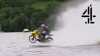 Hydroplaning Bike | Speed with Guy Martin