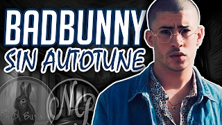 BAD BUNNY 🐰 | VOZ REAL SIN AUTO-TUNE 😱 | Nicolás Barbosa