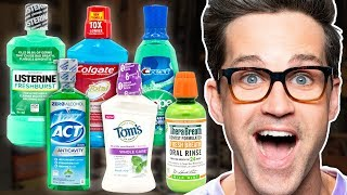 Best Mouthwash Taste Test