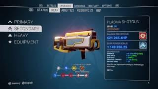 ALIENATION Gear Report - 5 Million Gear Power, 12 Slot Weapons, Stats