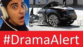 FaZe Rain CRASHES R8 Audi 2017 #DramaAlert PewDiePie Trolls Media - Onision Vs CYR