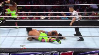 The Usos vs. The Prime Time Players: WWE Main Event, July 31, 2013