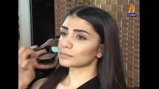 طريقة تحديد الوجه بالمكياج مع خبيرة التجميل هند من شركة  إنجلوت