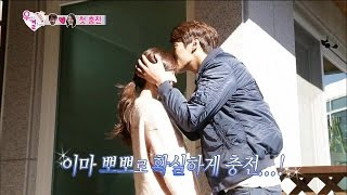 【TVPP】SiYang, Soyeon - Hug & Kiss, 시양, 소연 - 포옹과 뽀뽀로 급속 충전 @ We Got Married