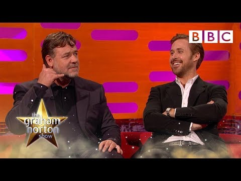 Russell Crowe on Michael Jackson's prank calls to him The Graham Norton Show BBC