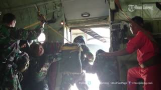 Kopassus dan TNI AU Latihan Jurga