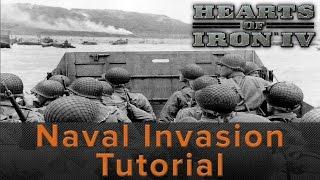 Hearts of Iron 4: Naval Invasion Tutorial