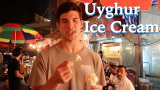 Uyghur Ice Cream in Kashgar, Xinjiang, China