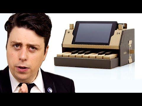 "Xxx Mp4 Nintendo Labo PARODY ""Cardboard Controllers 3gp Sex"