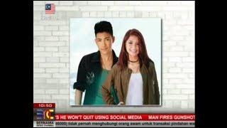 Darren Espanto & Nik Qistina LIVE on NINE 11, Bernama News Channel/ MALAYSIA (08-03-2017)