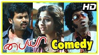 Latest Tamil Movie Comedy Scenes | Paiya Tamil Movie Comedy Scenes | Karthi | Tamanna | Jagan