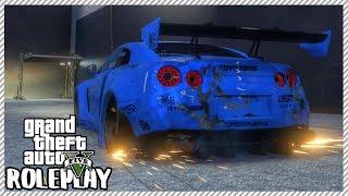 GTA 5 ROLEPLAY - Junkyard Rescue! Nissan GTR R35  | Ep. 316 Civ
