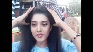 Barsha Priyadarshini From The Set of