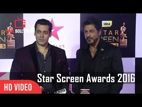 Xxx Mp4 Salman Khan And Shahrukh Khan Together At Star Screen Awards 2016 Full Video 3gp Sex