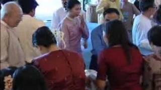 Lu Min & Khin Sabe Oo Wedding - Part 1.wmv