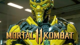 Mortal Kombat 11 Story Mode Gameplay German #05 - Cyber Fighter