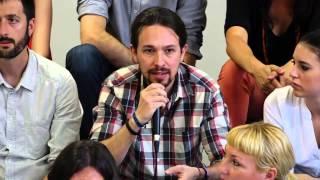 Pablo Iglesias deja en ridículo a una periodista de Telemadrid