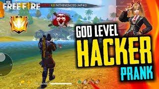 Free Fire Hacker God Level Prank - Garena Free Fire- Total Gaming