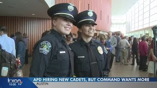 APD hiring new officers to fill gaps, but command wants hundreds more