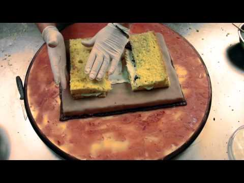torta libro antico