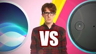 Siri vs Alexa