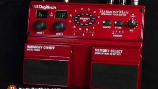 Digitech HM2 HarmonyMan Intelligent Pitch Shifter