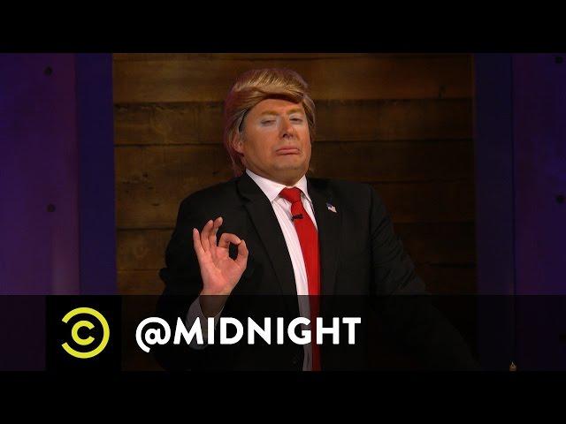 Donald Trump's Next Wife: Angelina Jolie? - @midnight with Chris Hardwick