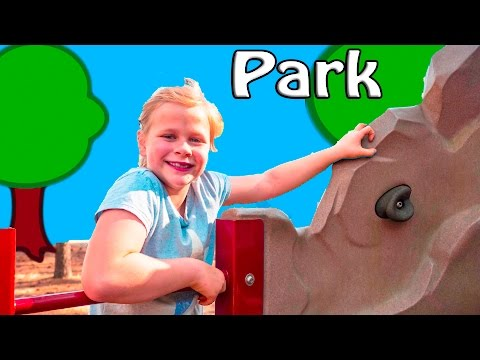 ASSISTANT Playground Playdate Fun with Animals Swiings and Monkey Bars