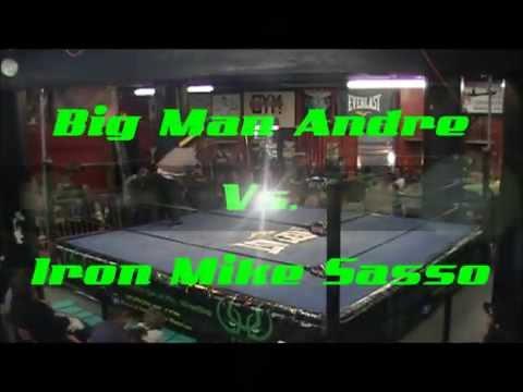 WUW Big Man Andre Vs  Iron Mike Sasso 2014