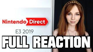 FULL NINTENDO E3 DIRECT REACTION 6.11.2019 | MissClick Gaming