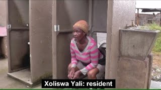 Video: Open toilets a daily reality for residents
