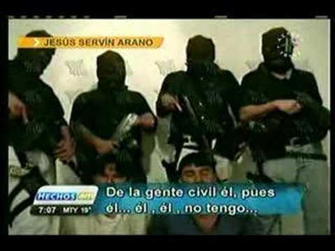 entrevista a sicarios de los zetas