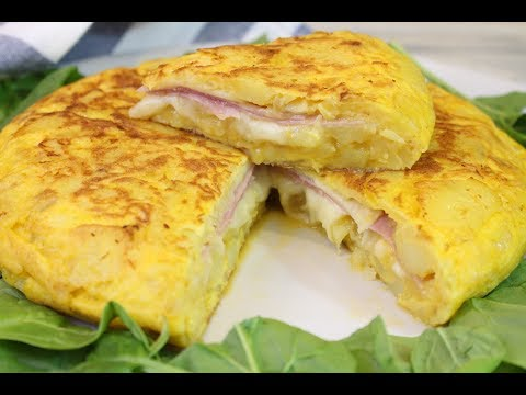 Xxx Mp4 Tortilla De Patata Rellena De Jamón Y Queso Tortilla Sandwich Receta Deliciosa 3gp Sex