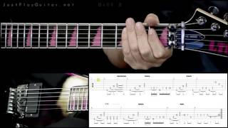 How to play CHILDREN OF BODOM Punch me i bleed with tabs