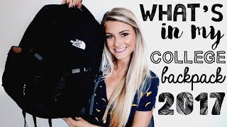 What's in My Backpack for College 2017 │USC