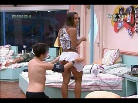 Big Brother Brasil 10 A rabuda da Elaine com safadeza