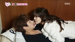 [We got Married4] 우리 결혼했어요 - Seesaw couple's sexually attractive photo shoot! 20160109