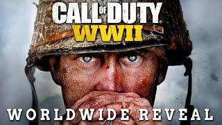 Call of Duty: WORLD WAR 2 - TRAILER GAMEPLAY WORLD REVEAL! 🔴 *LIVE!* 🔴