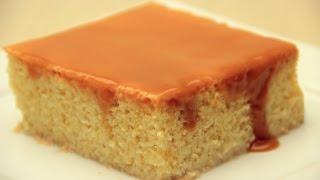 Trileçe Tatlısı Tarifi - Karamelli Sütlü Islak Kek Tarifi