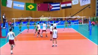 ALG vs CHN 2017 FIVB Men