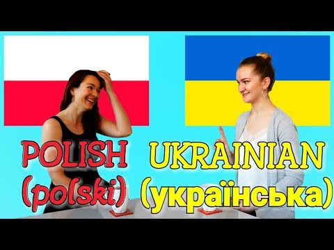 Similarities Between Ukrainian and Polish