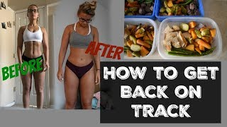 Weight Gain After Vacation? Here's How To Get Back On Track!