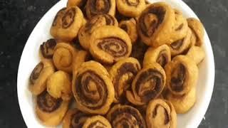 Masala bhakharwadi recipi/ gujrati special recipi/ how to make crispy bhakharwadi at home