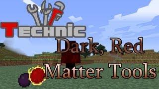 Minecraft Technic Tutorials #06 - Dark + Red Matter Tools, Philosopher's Stone