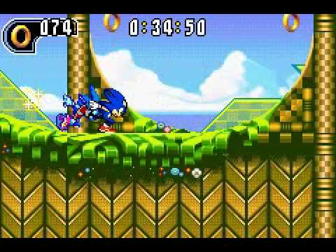 Sonic Advance 2 Leaf Forest Act 1 Time Attack by XXX SORA XXX