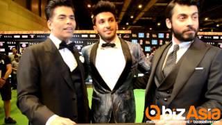 IIFAS 2016: Karan Johar, Ranveer Singh and Fawad Khan talk to BizAsia at the IIFA green carpet