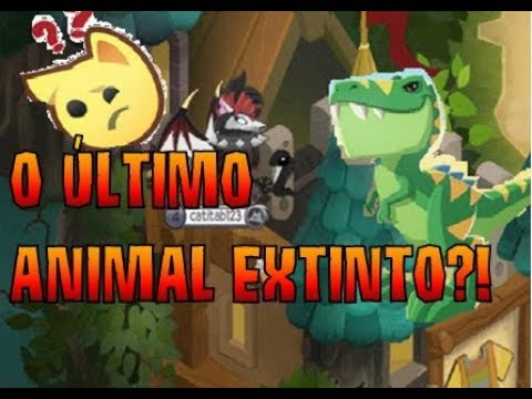 T REX NO ANIMAL JAM A TEORIA DO ÚLTIMO ANIMAL EXTINTO